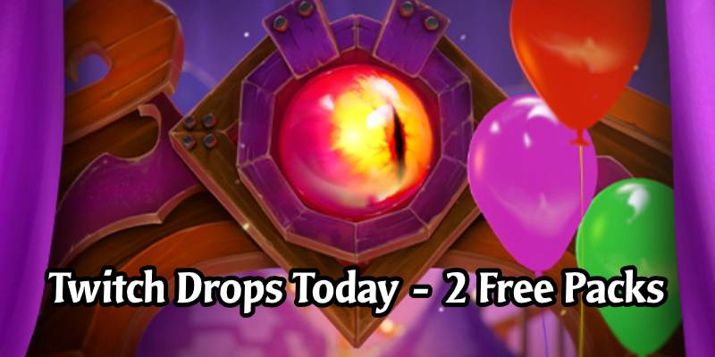 Two Free Scholomance Academy Packs Today Through Twitch Drops - Limited Time Only!