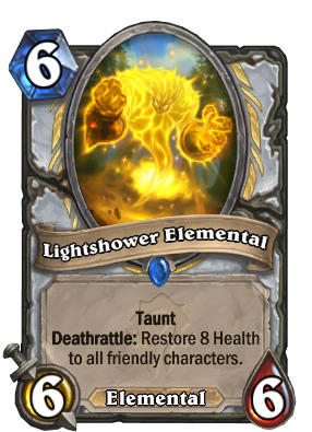 Lightshower Elemental Card Image