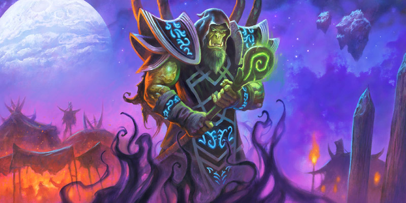 Get the Shadowmoon Gul'dan Hero Skin Bundle & Play the New Book of Heroes Chapter for a Free Pack