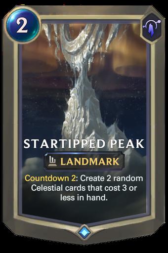 Startipped Peak Card Image