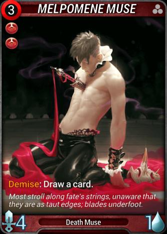 Melpomene Muse Card Image