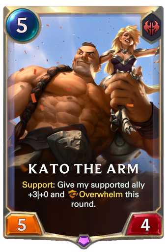 Kato The Arm Card Image