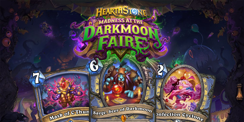 Our Thoughts on Hearthstone's Madness at the Darkmoon Faire Mage Cards