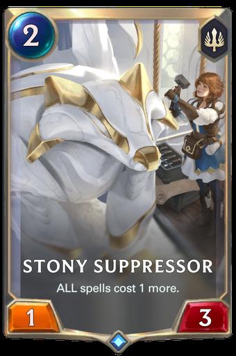 Stony Suppressor Card Image