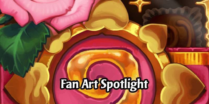 In The Frame: Hearthstone Fan Art Spotlight - Tasty Card Backs For Your Valentine!