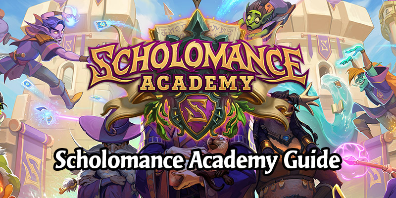 The Scholomance Academy Expansion Guide - All New Information & Revealed Cards!