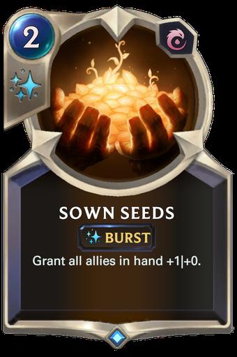 Sown Seeds Card Image