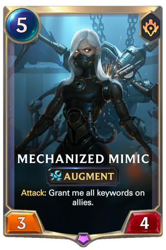 Mechanized Mimic Card Image