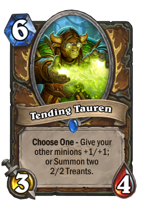 Tending Tauren Card Image