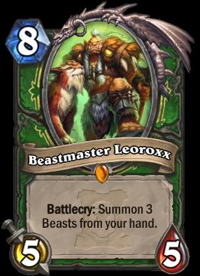 Beastmaster Leoroxx Card Image