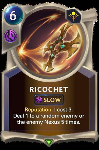 Ricochet Card Image