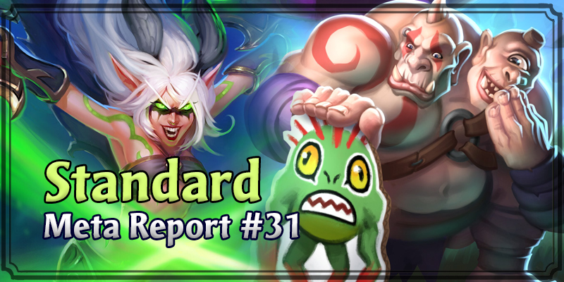 Standard Meta Report #31 - Top Hearthstone Decks April 19, 2020 - April 26, 2020