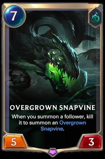 Overgrown Snapvine Card Image