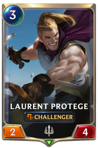 Laurent Protege Card Image