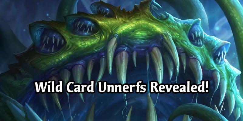 Hearthstone Wild Card Unnerfs Revealed - Yogg-Saron, Raza and More!