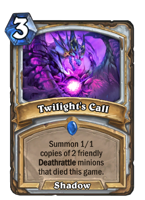 Twilight's Call Card Image