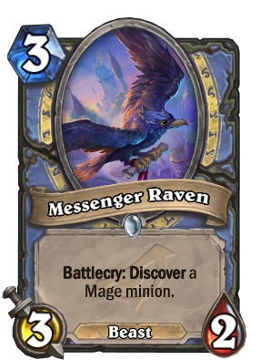 Messenger Raven Card Image