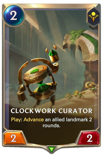 Clockwork Curator Card Image