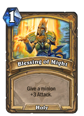 Blessing of Might Card Image