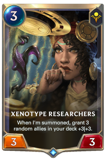 Xenotype Researchers Card Image