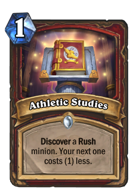 Athletic Studies Card Image