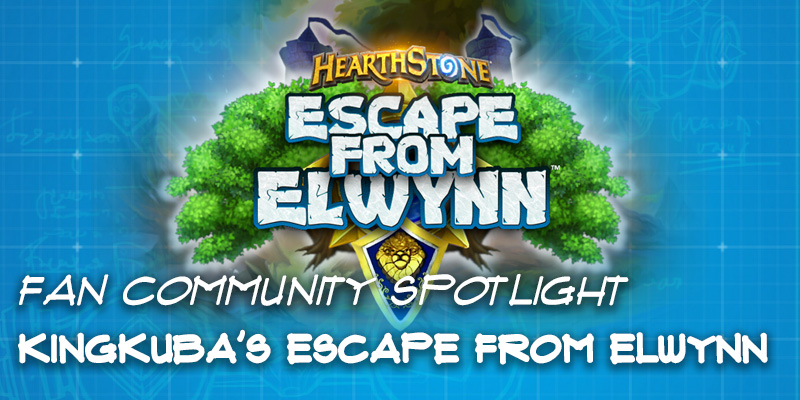 "Fan Community Spotlight - KingKuba's ""Escape from Elwynn"""