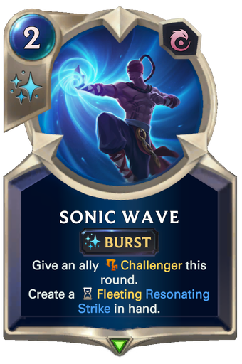 Sonic Wave Card Image