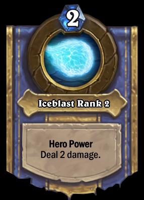 Iceblast Rank 2 Card Image