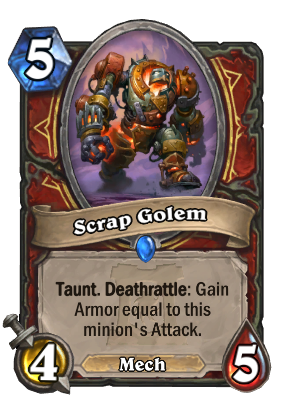 Scrap Golem Card Image