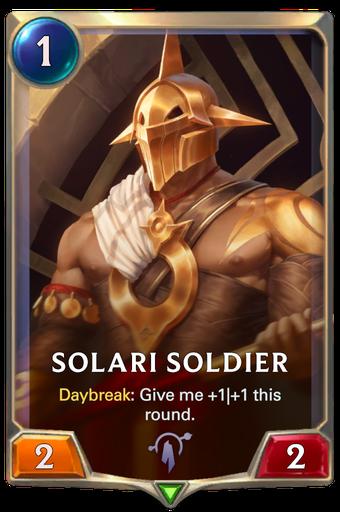 Solari Soldier Card Image