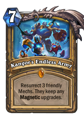 Kangor's Endless Army Card Image