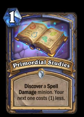 Primordial Studies Card Image