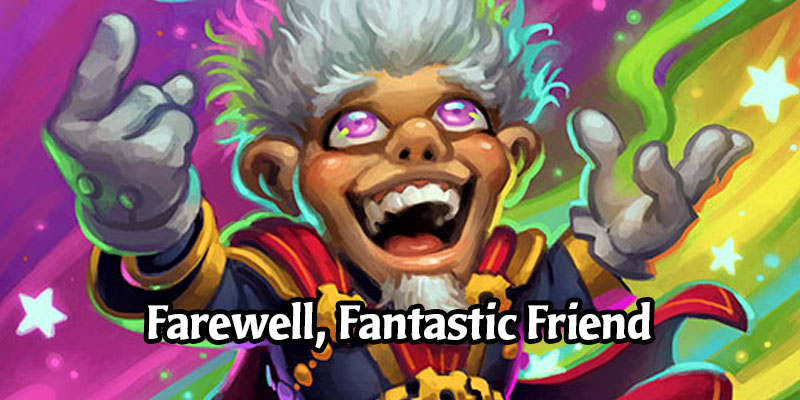 Hearthstone Confirms Whizbang the Wonderful Will Rotate in April, Leaving Standard