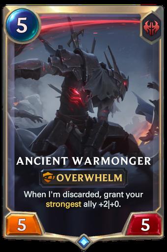 Ancient Warmonger Card Image