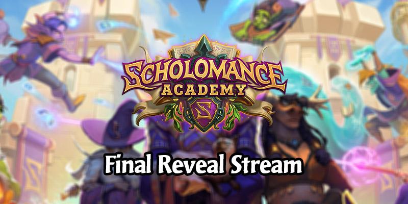Hearthstone Scholomance Academy Final Card Reveal Stream Live Recap