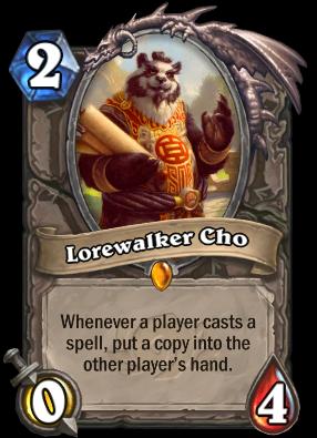 Lorewalker Cho Card Image