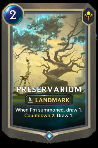 Preservarium Card Image