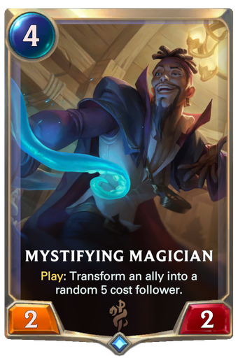 Mystifying Magician Card Image