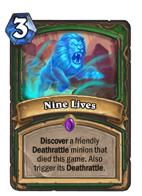 Nine Lives Card Image