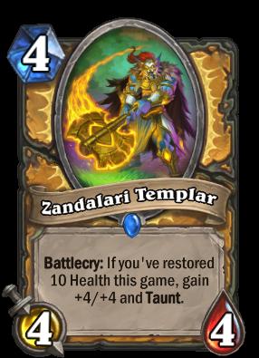 Zandalari Templar Card Image