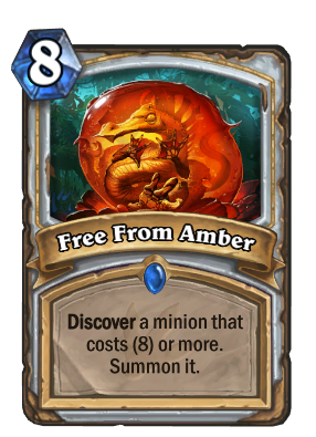 Free From Amber Card Image