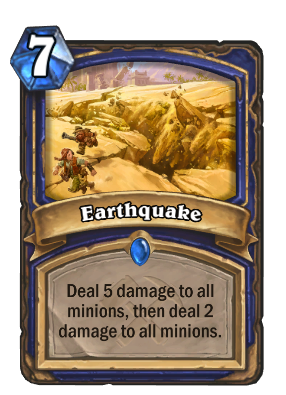 Earthquake Card Image