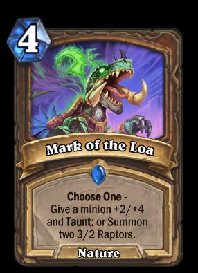 Mark of the Loa Card Image