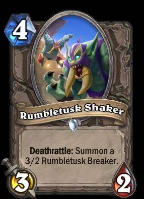 Rumbletusk Shaker Card Image