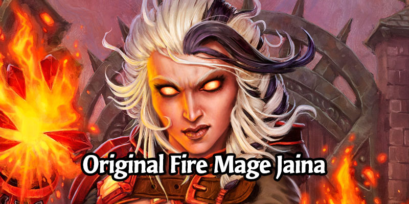 Glenn Rane Releases Unused Fire Mage Jaina Art and Its Spicy
