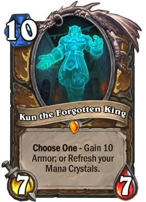 Kun the Forgotten King Card Image