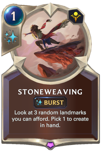 Stoneweaving Card Image