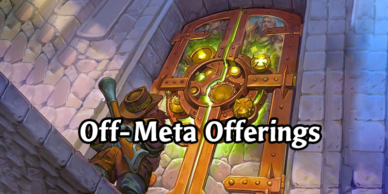 Off-Meta Offerings from HSReplay