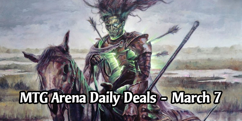 Daily Store Deals in MTG Arena for March 7, 2020 - The Lots of Horses Sale