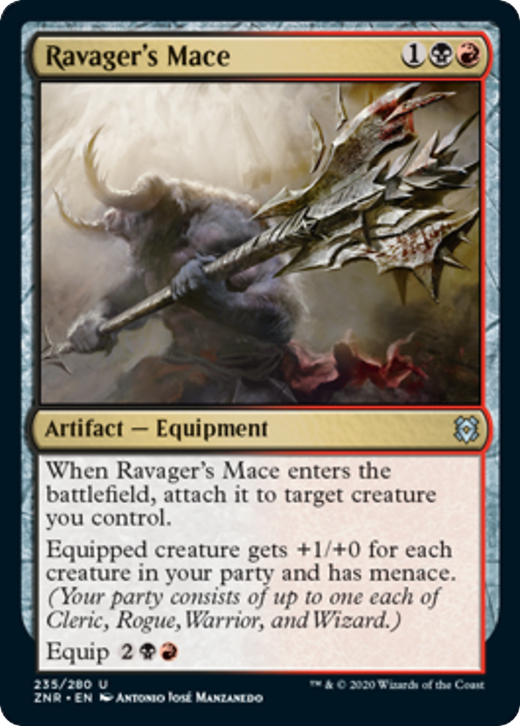 Ravager's Mace Card Image